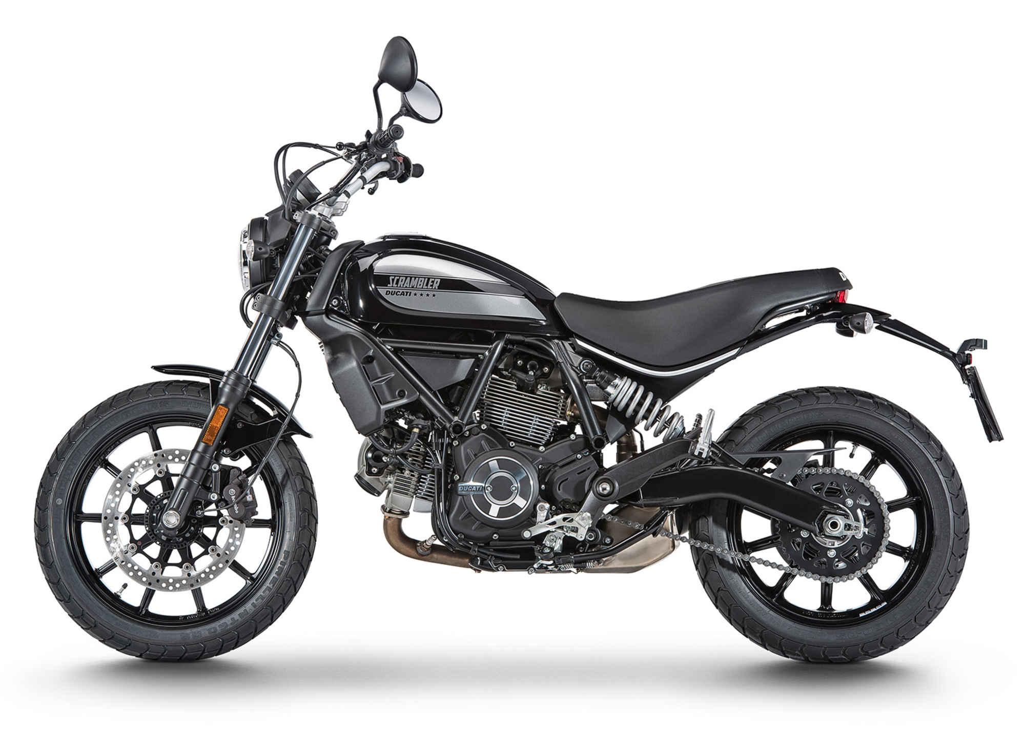 Ducati 2016 scramble black side