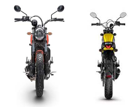 Ducati scrambler 2016 view