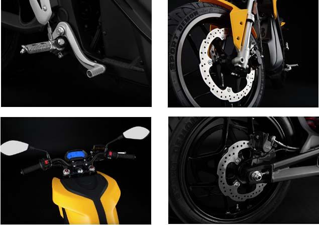 2016 ZERO S wheel specs