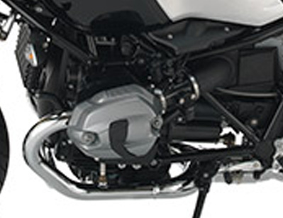 2016 BMW R nine T Scrambler  engine side view