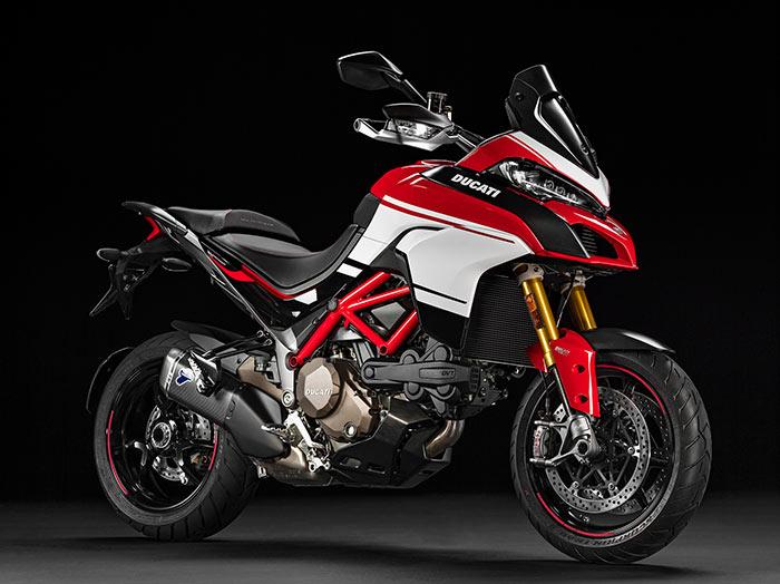 2016 Ducati Multistrada 1200 Pikes peak front