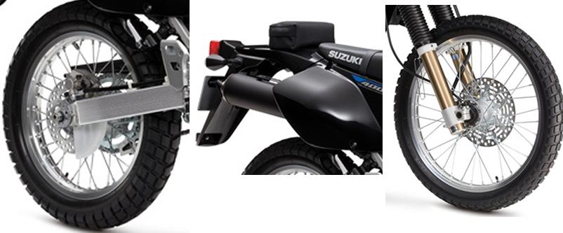 2017 Suzuki DR-Z400S wheel specs