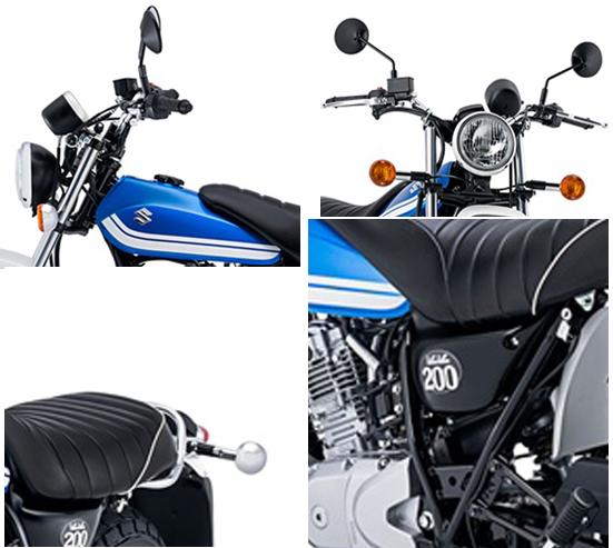 2017 Suzuki VanVan 200 specs