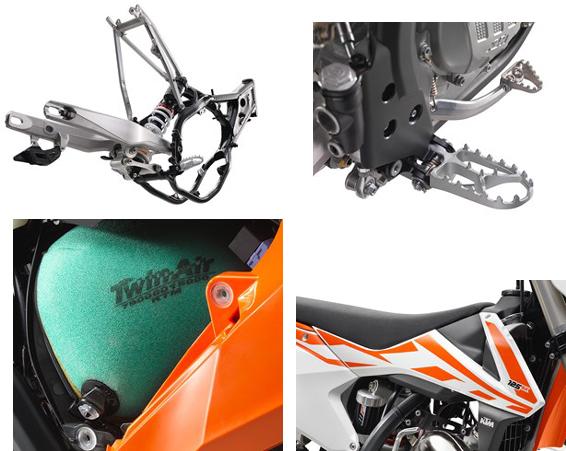 2017 KTM 125 SX design specs - Bikes Catalog