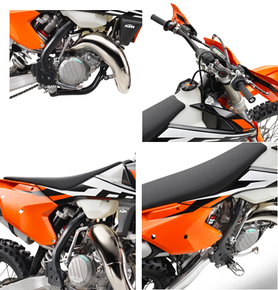 2017 ktm 125 xc-w - review and specification