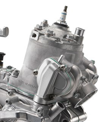 2017 KTM 300 EXC engine