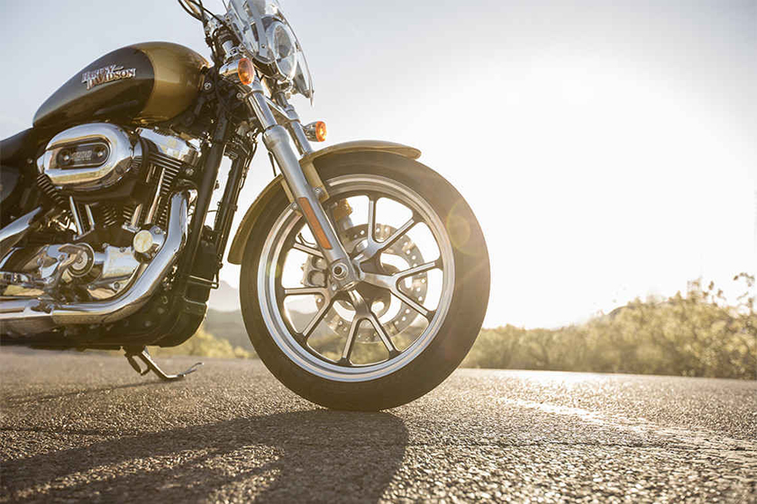 2017 Sportster SuperLow 1200T Harley Davidson Engine
