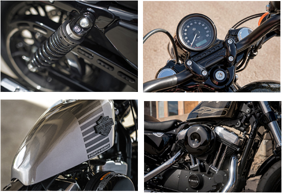 2017 Sportster Forty-Eight Harley-Davidson Specs