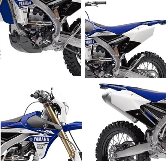Wr250f Seat Height