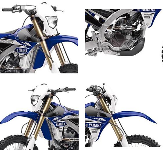 2017 Yamaha WR250F Specs 1