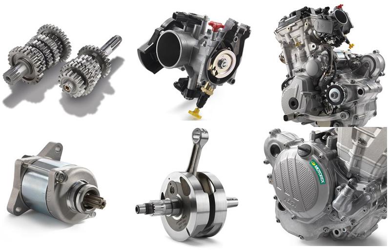 KTM 350 EXC-F 2017 Specs