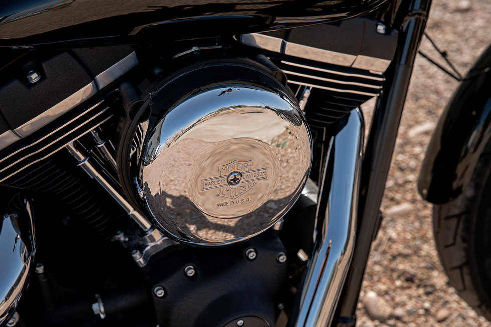 2017 Harley Davidson Dyna Street Bob engine