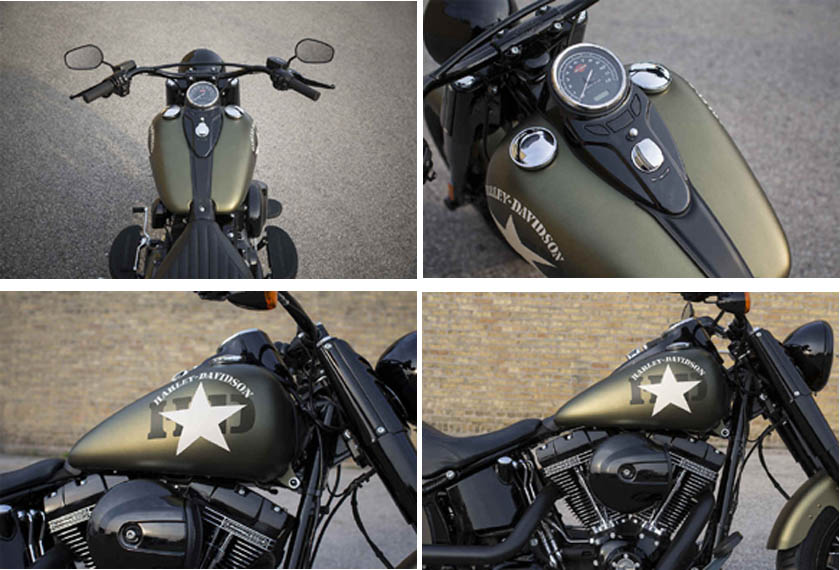 2017 Softail Slim S Harley-Davidson Specs