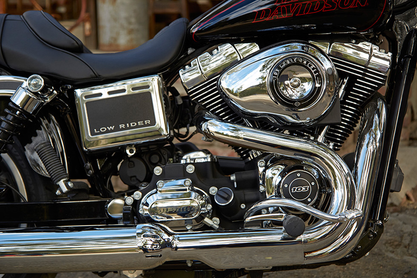 Harley Davidson 2017 Dyna Low Rider Engine