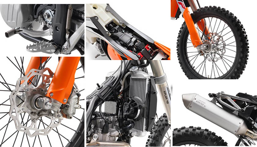 The Most Powerful Dirt Bike KTM 500 EXC-F 2017 Specs