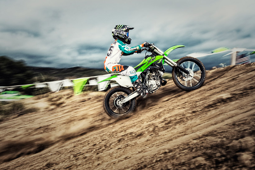 2017 KX 100 Kawasaki