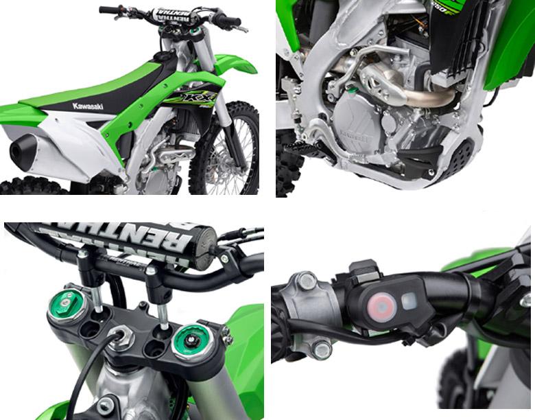 2017 KX 250F Kawasaki Specs