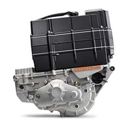 Freeride E-SX 2017 KTM motor