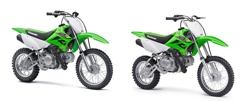 2017 klx 110 and 2017 klx 110l kawasaki review - bikes catalog