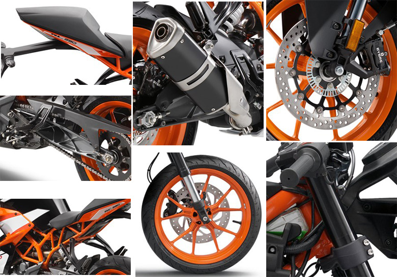 review of 2017 ktm rc 390 super motorcycle with specs - bikes catalog