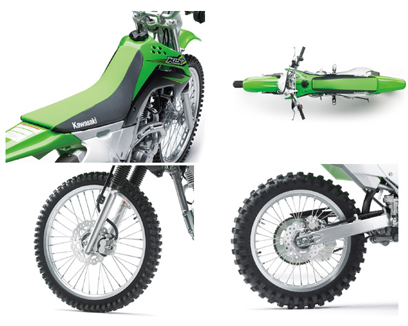2017 Kawasaki KLX 140G Off-Road Motorcycle Specs
