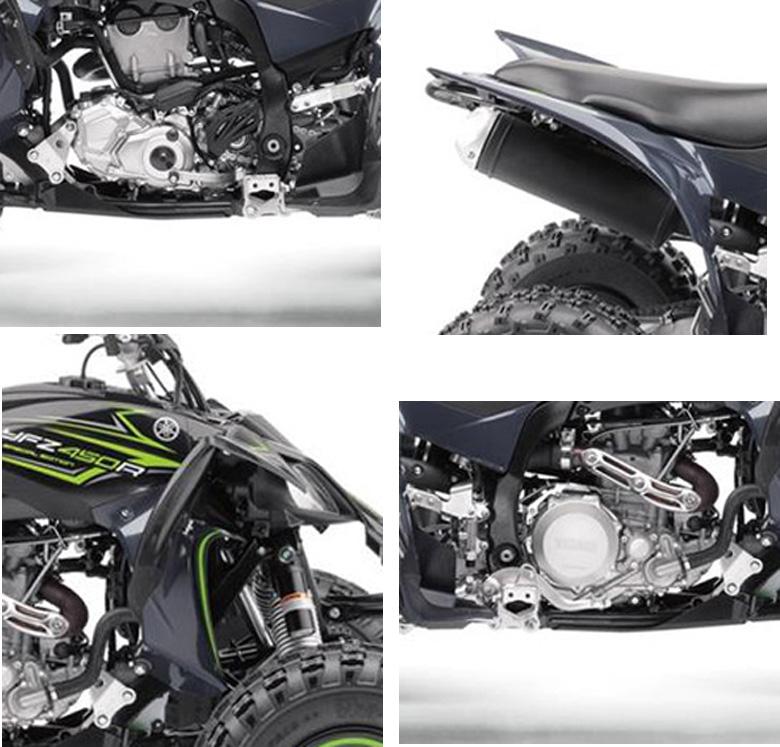 2017 Yamaha YFZ450R SE Sports ATV Specs