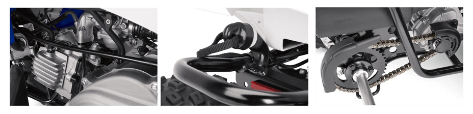 2017 Yamaha YFZ50 Sport ATV Specs