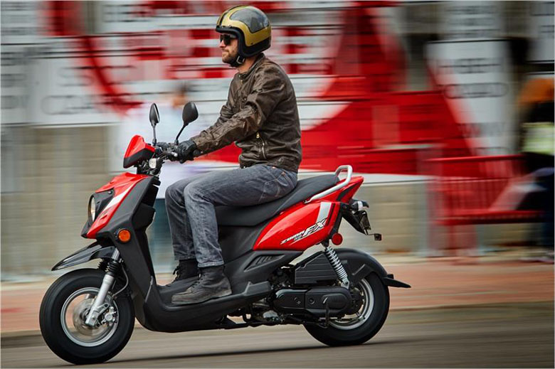 Review Specs 2017 Yamaha Zuma 50FX Scooter Price Pics - Bikes Catalog