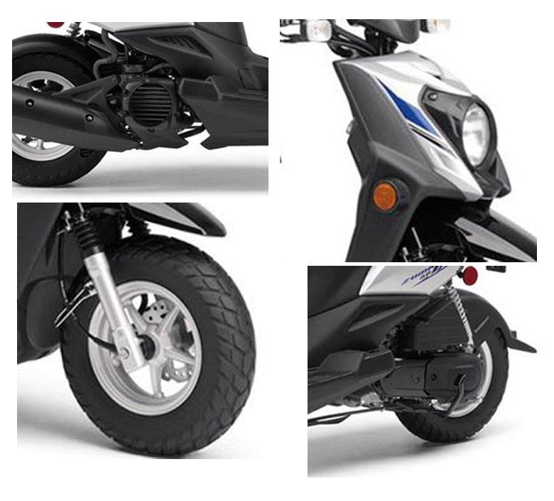 Brand new 50cc mvp scooter tangerine boom moped