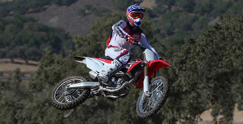 Honda 2017 CRF250R Dirt Bike