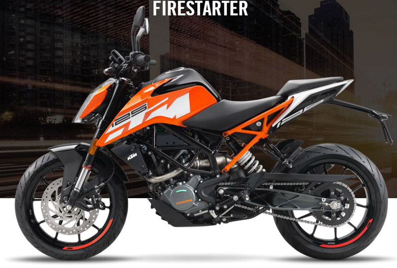 ktm 125 duke 2017 sports bike review price specs pics - bikes catalog