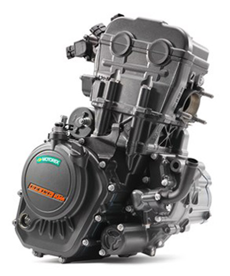 KTM 125 Duke 2017 Sports Bike Engine