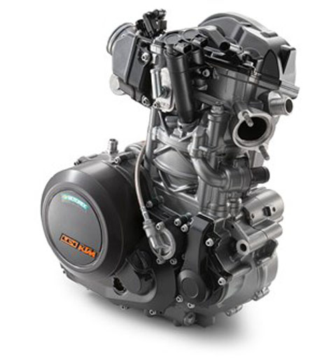 KTM 690 Duke R 2017 Naked Engine