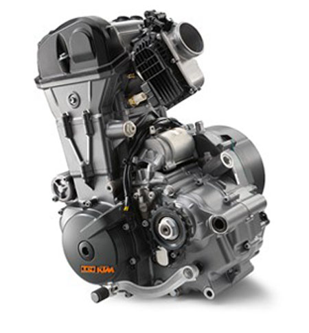 KTM 690 Duke R 2017 Naked Engine