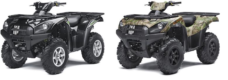 Kawasaki 2017 Brute Force 750 4x4i EPS and EPS Camo