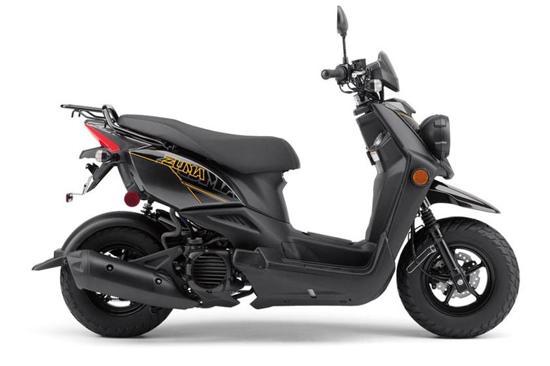 yamaha 2017 zuma 50f scooter review price specs pics bikes catalog. Black Bedroom Furniture Sets. Home Design Ideas