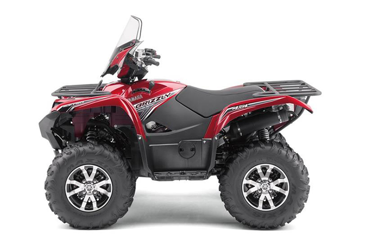 2017 grizzly eps le yamaha utility atv review bikes catalog