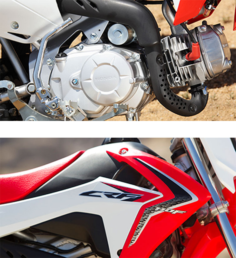 2017 Honda CRF110F Trail Dirt Bike Specs