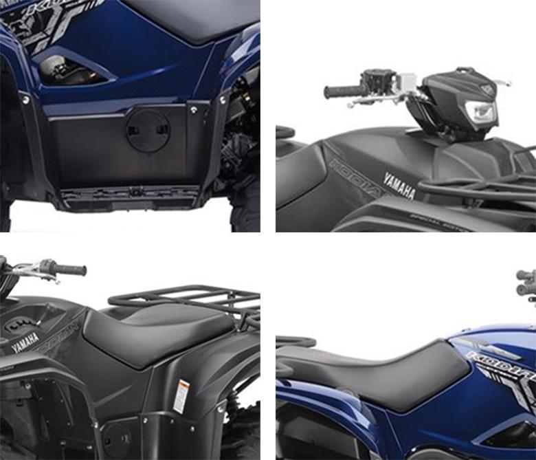 Yamaha Kodiak 700 EPS SE 2017 Specs
