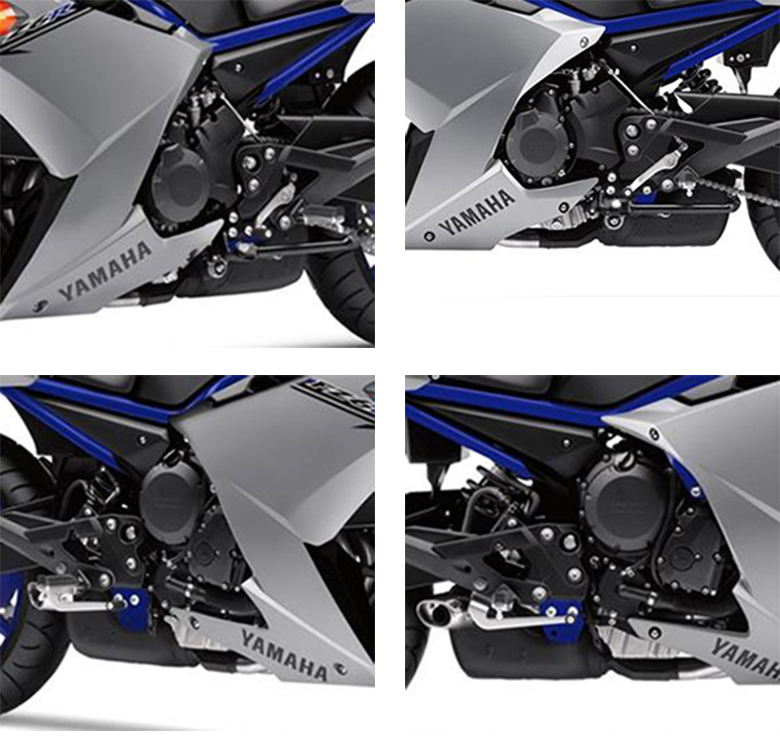 2017 FZ6R Yamaha Sports Motorcycle Specs