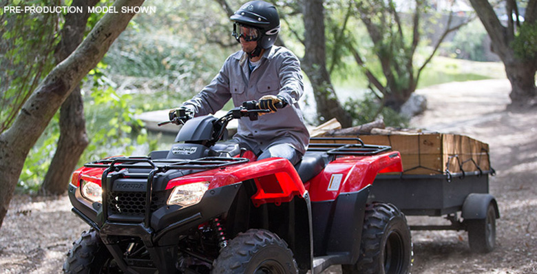 2017 FourTrax Rancher Honda Utility Quad Bike