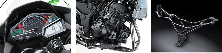 2017 Ninja 300 ABS KRT Edition Kawasaki Sports Bike Specs