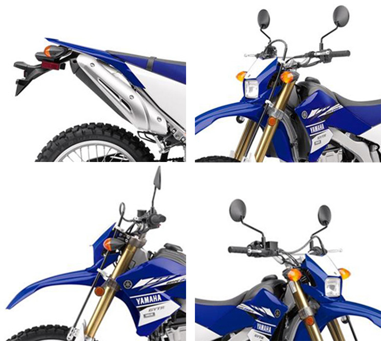 2017 WR250R Yamaha Adventure Bike Specs