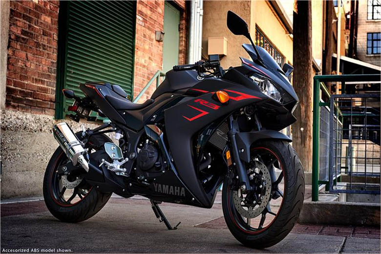 2017 YZF-R3 Yamaha Sports Motorcycle
