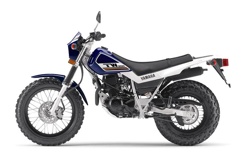 2017 yamaha tw200 dual sport motorcycle review bikes catalog