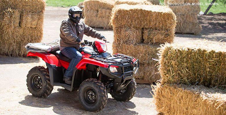Honda FourTrax Foreman Rubicon 4x4 2017 ATV