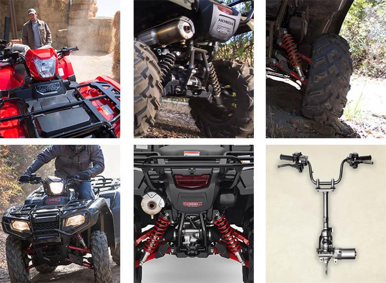 Honda FourTrax Foreman Rubicon 4x4 2017 ATV Specs