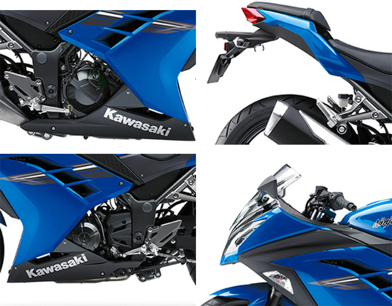 Kawasaki 2017 Ninja 300 ABS Sports Bike Specs