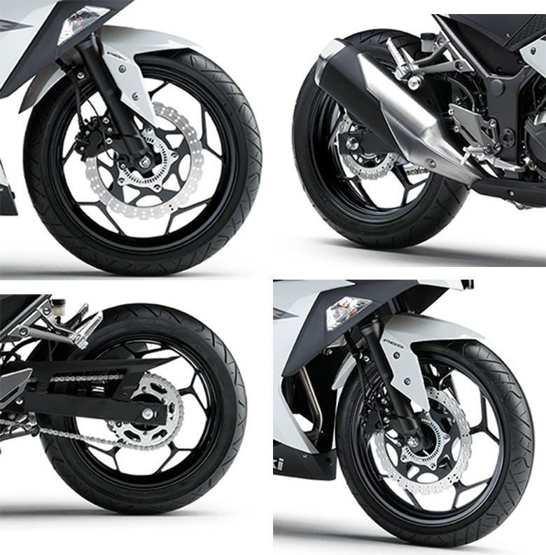 Kawasaki 2017 Ninja 300 ABS Sports Bike Specs