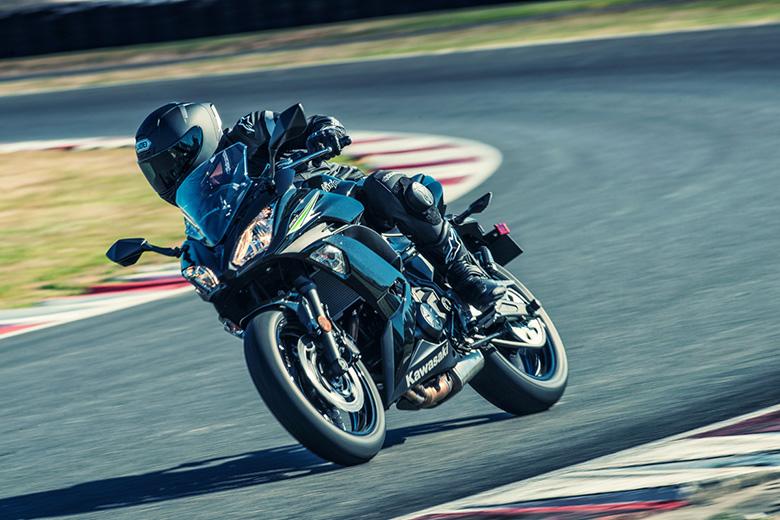 review of 2017 kawasaki ninja 650 abs sports bike bikes